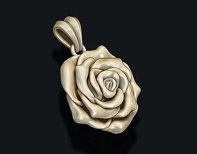 3D printable model Rose pendant flora