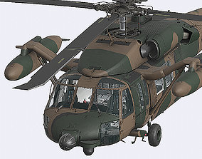 3D model UH60 JA Black Hawk