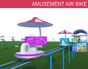 3D Amusement Air Bike