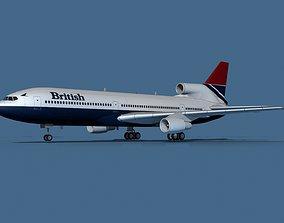 Lockheed L-1011-50 British Airways 2 3D