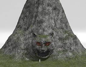 Mountain - Tiger Head 3D model exterior