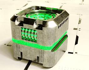 3D model SciFi Battery