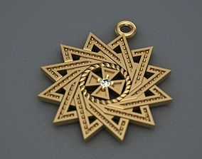 pendants 3d print model star