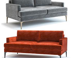 3D model West Elm Andes Sofa