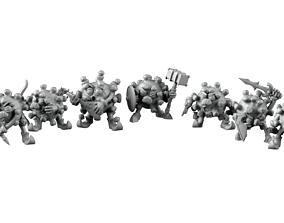 3D printable model Covid Advenurers