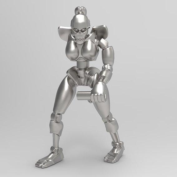 Female Undead Robot
