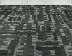 3D model Wall to Wall Carpet Tile No 2