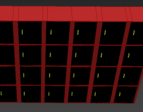 Drawer 3d Model With Cabinet