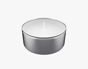 Tealight Candle 3D