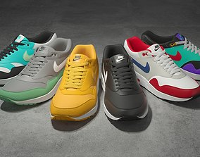 3D model Nike Air Max 1 v2