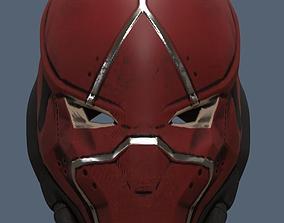 Red Hood Helmet Injustice 2 3D print model