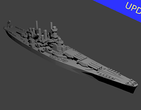 US North Carolina Class 3D printable model