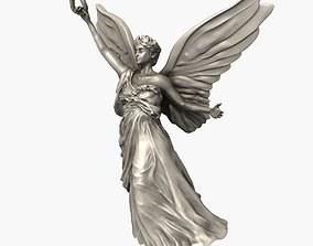Angel Statue solid 3D model