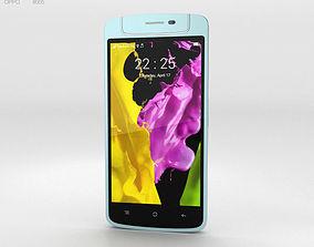 3D model Oppo N1 mini Light Blue