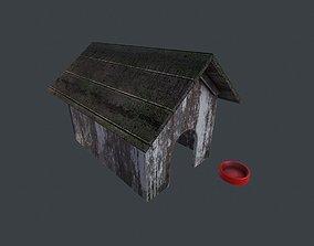 Old Dog House 3D asset