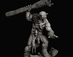 Giant Cyclops concept miniature by 3D print model 2