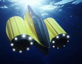 3D model Underwater Drone Concept