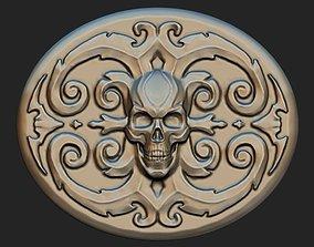 buckle Skull 3D print model