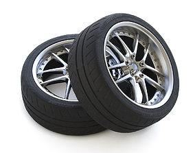 Wheel Piaa Rozza Westlake Rs sport 3D model