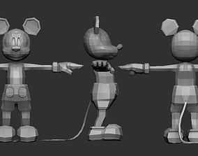 3D print model Mickey Mouse but better
