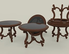 Artistic Rounded Table 3D