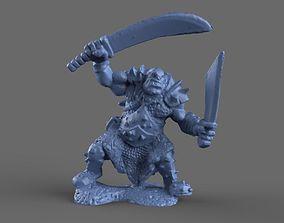3D Ogre Miniature model