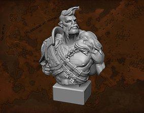 Giant King Bust 3D print model