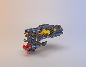 3D model Lego - V8 Engine