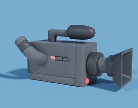 3D asset Filmcamera