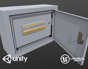 Game Ready Electrical Fuse Box 3D model