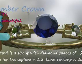 rings September crown 3D printable model