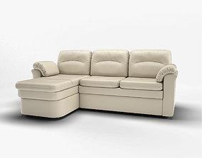 corner sofa 3D leather
