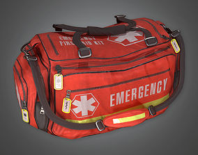 Medical Bag HPL - PBR Game Ready 3D asset