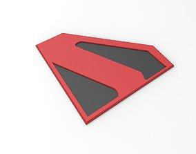 3D printable Kingdom Come Superman emblem for cosplay