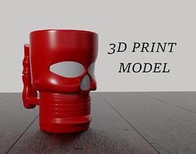 Skull Mug 3D print Model