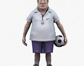 Cartoon Man max 3D