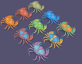 Cartoon Crab 3D model