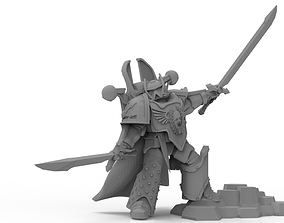 3D print model Lucian the Immortal - Champion of the Third