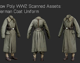 German Uniform WW2 Photogrammetry 3D Scanned VR / AR ready