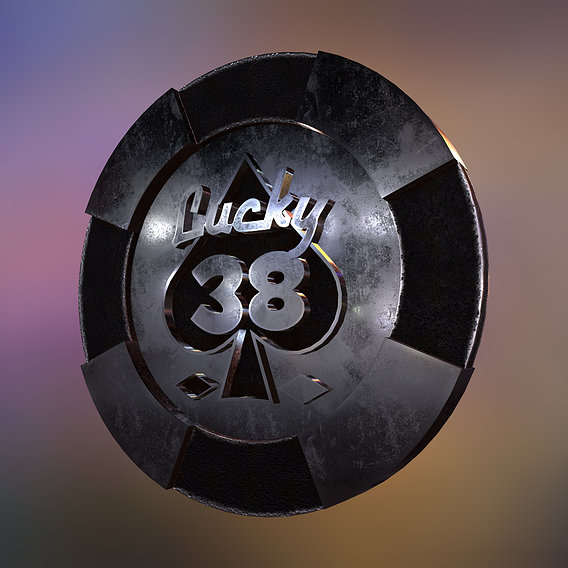 New Vegas Lucky 38 chip