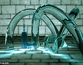 caustics lighting mental ray 3D