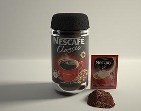 3D asset NESCAFE Product in Cinema 4D