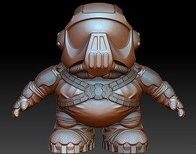 Super Short Shock Trooper 3D printable model