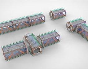 3D model Sci Fi Modular Environment