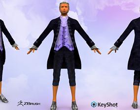 Boscovich Joseph Roger PBR Animated 3D model