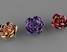flowers rose 3D print model