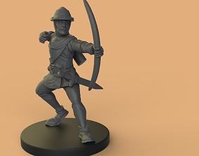3D printable model archer