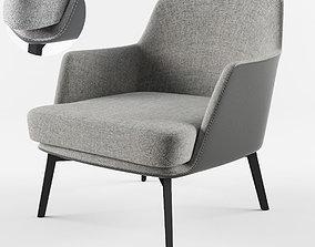 3D model Cullen Lounge Chair