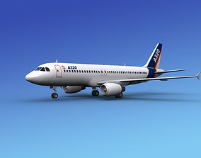 Airbus A320 1 3D