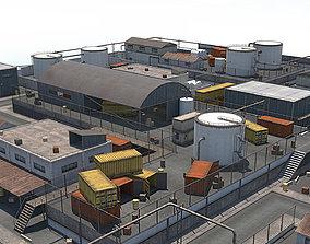 3D model Industrial Area - Scene